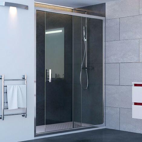 Porte de douche coulissante NERINA 160 cm - 6mm