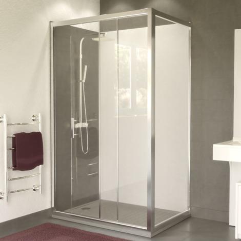 porte de douche d 39 angle avec paroi coulissante nerina 120x80 cm i pc pafctr6 120x80sw. Black Bedroom Furniture Sets. Home Design Ideas