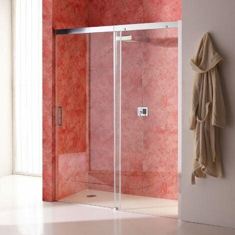 porte de douche en niche de 120 cm paroi fixe droite en. Black Bedroom Furniture Sets. Home Design Ideas