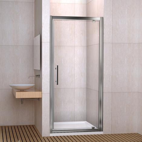Porte de douche pivotante 187cm