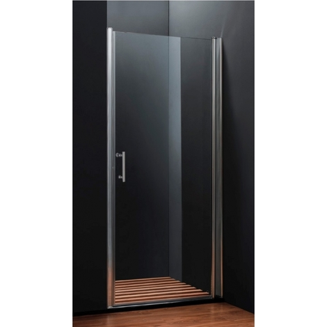 Porte de douche pivotante 70-90 cm