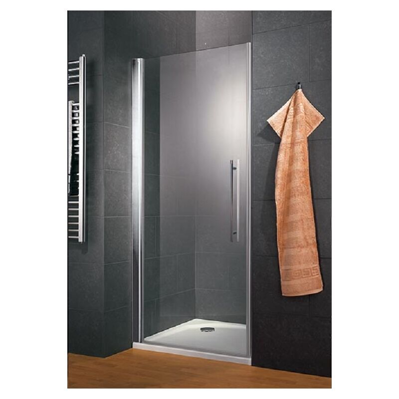 porte de douche pivotante 90 x 190 cm verre 6 mm. Black Bedroom Furniture Sets. Home Design Ideas