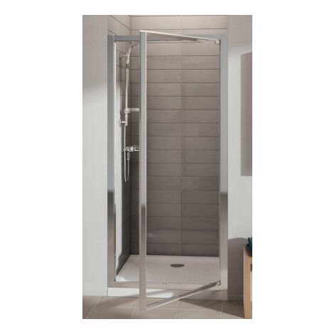 Porte de douche pivotante accès face Connect Ideal Standard-80 x 190 cm Ideal Standard