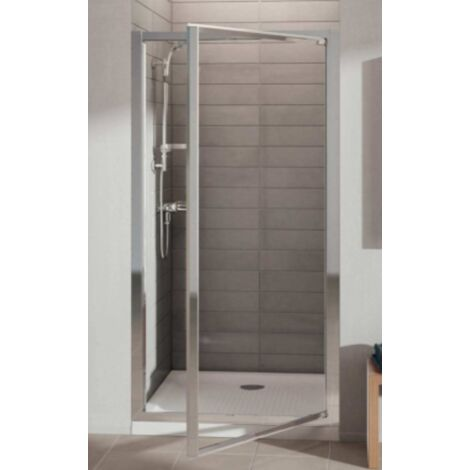 Porte de douche pivotante accès face Connect Ideal Standard-90 x 190 cm (Finition blanc) Ideal Standard