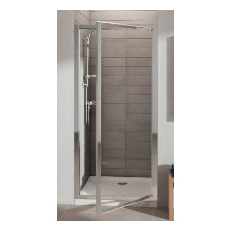Porte de douche pivotante accès face Connect Ideal Standard-90 x 190 cm Ideal Standard