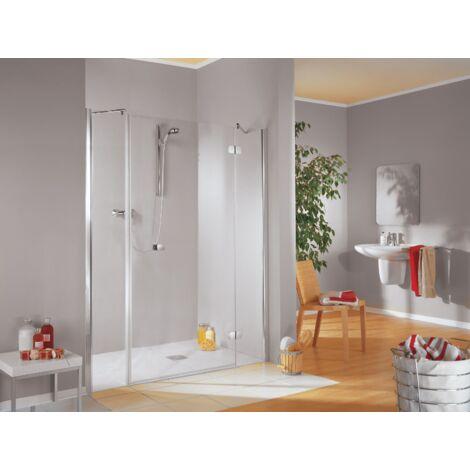 Porte de douche pivotante MasterClass grand large, traitement anti-calcaire - Schulte