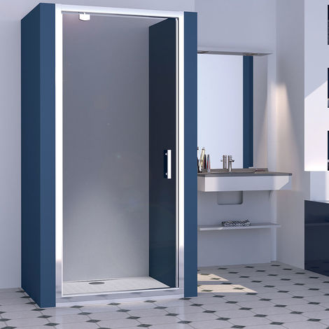 Porte de douche pivotante NERINA 80 cm - 6mm