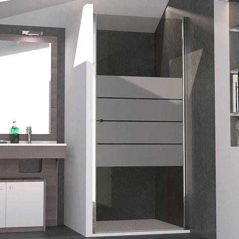 porte de douche pivotante serylane 90 cm 6mm i pc. Black Bedroom Furniture Sets. Home Design Ideas