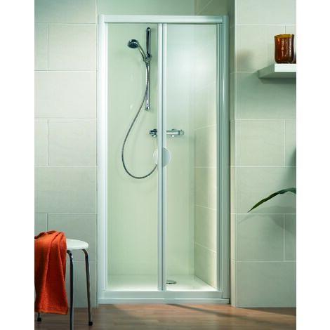 Porte de douche 185 cm largeur r glable prix mini Porte pliante 90 cm transparente