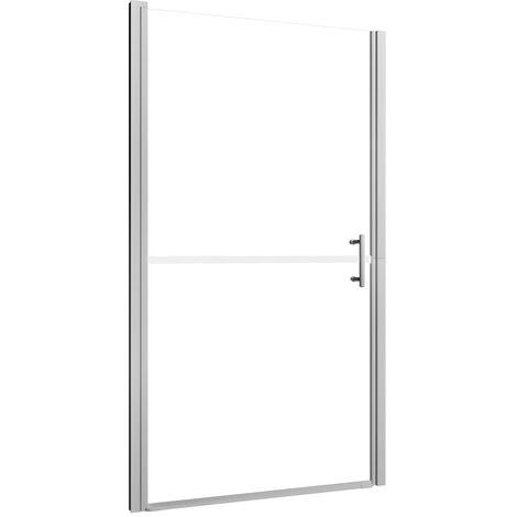 Porte de douche Verre trempé dépoli 81x195 cm