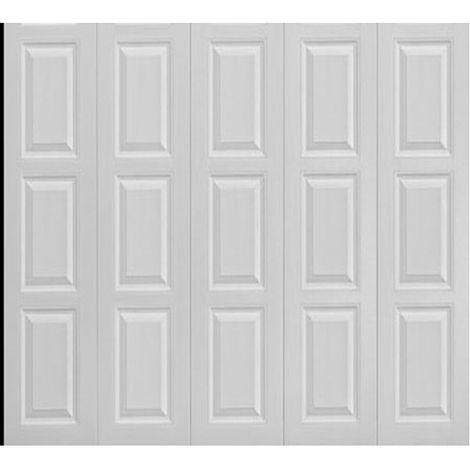 Porte de garage latérale à cassettes 240x200 cm