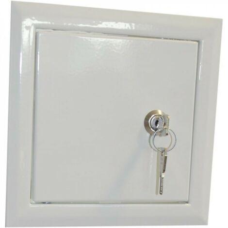 Porte de révision de cheminée pour la clé 40x40cm