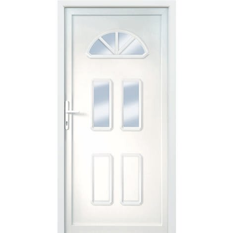 """main image of """"Porte d'ingresso principali classico modello B6 dentro: bianco, al di fuori: bianco"""""""