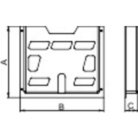 Porte documents Schneider Electric NSYDPA5 NSYDPA5 22 x 188 x 174 Polystyrène gris clair (RAL 7035) 1 pc(s)
