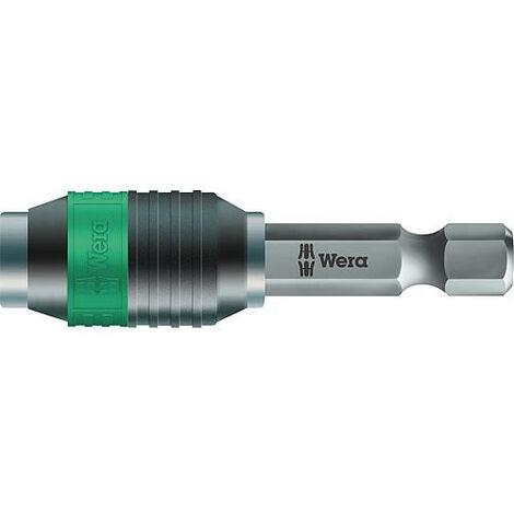 """Porte-embout WERA Adaptateur rapide 1/4"""", longueur 50 mm"""
