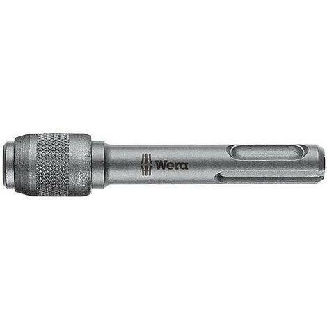 Porte-embouts WERA avec insert SDS-Plus et mandrin à serrage rapide longueur 75mm