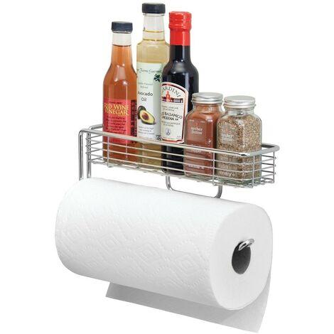 Porte essuie-tout avec panier pour épices - IDesign - Interdesign