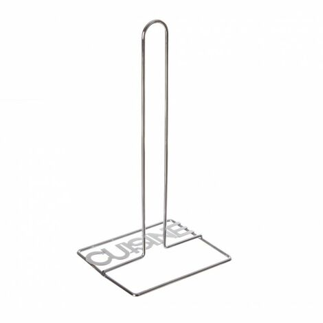 Porte Essuie-Tout Cuisine 31cm Argent