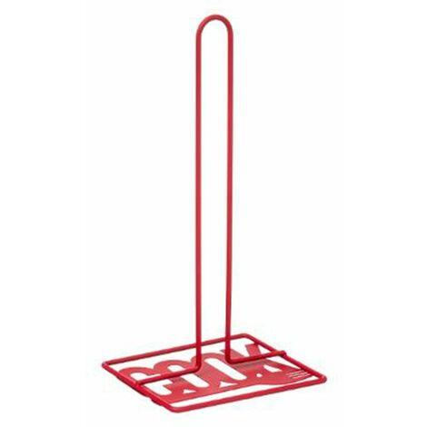 Porte Essuie Tout en Métal Cook 31cm Rouge