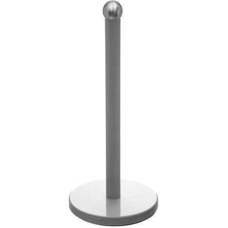 Porte Essuie-Tout Métal Colors 34cm Gris