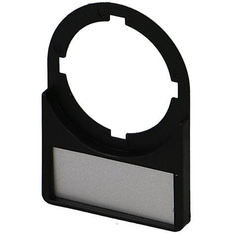 Porte étiquette + étiquette IMO pour bouton Ø22mm (lot de 10)
