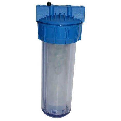 Porte filtre + protection anti calcaire silicophosphate 200m3 de traitement