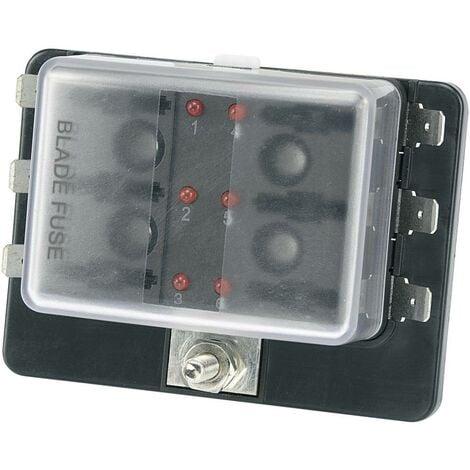 Porte-fusible pour automobile avec affichage du statut TRU COMPONENTS TC-R3-76-01-3L106 1588004 30 A 32 V/DC 1 pc(s)