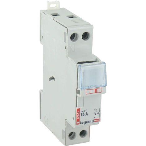 Porte-fusibles 1P+N - 16A - 1 module - pour cartouches 10,3 x 25,8
