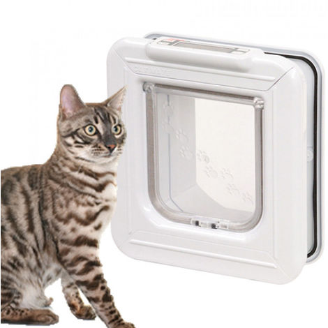 Porte micropuce Temporisée 355W pour chatière électronique Cat Mate