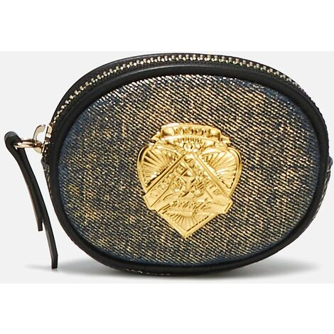Porte Monnaie Rond Sororite Gold Denim