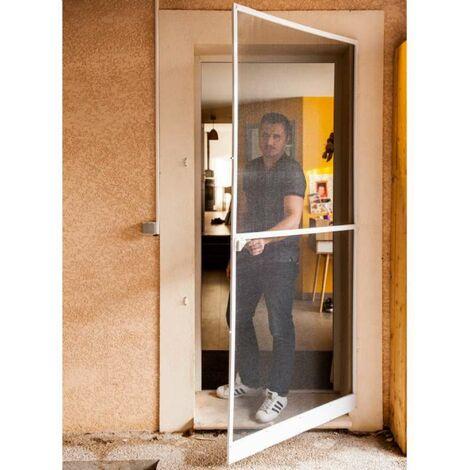 Porte moustiquaire 100x225cm Werkapro cadre alu