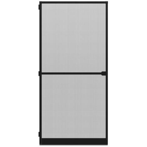 Porte-moustiquaire WIP Porte anti-mouches grillagée en alu 120x240 cm, anthracite