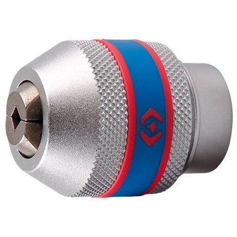 Porte-outils à cliquet pour taraud 3/8 D. 34,4 mm - 2 à 6 mm - M1 à M10
