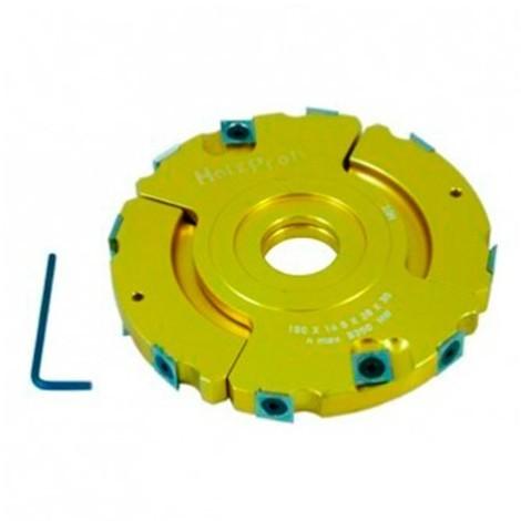 Porte outils à feuillurer et à tenonner D. 150 x ép. 14-28 x Al. 30 mm - PFT01 - Holzprofi - -
