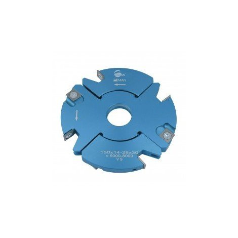 Porte outils à rainer / tenonner 170 mm 20/39 mm toupie 30 mm