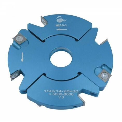 Porte outils à tenonner 150 mm extensible 20 / 39 mm toupie 30 mm