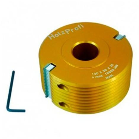 Porte outils bouvetage en dents de scie D. 100 x Ht. 50 x Al. 30 mm - PBDS01 - Holzprofi - -