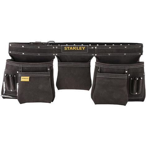 Porte-outils cuir double ceinture STANLEY - STST1-80113