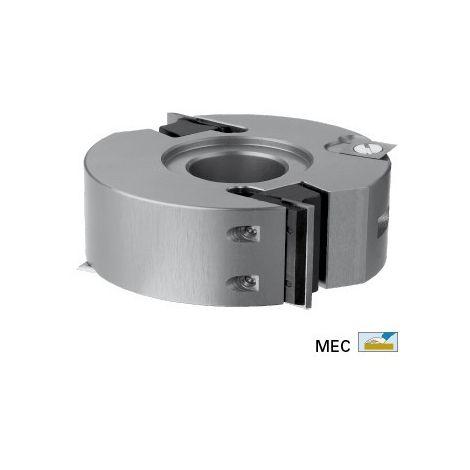 Porte outils multifonctions Ø100 hauteur 50 pour toupie arbre de 30 mm