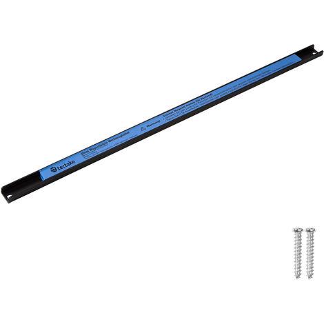 Porte-outils mural 60 cm Rangement outils en Acier Bleu