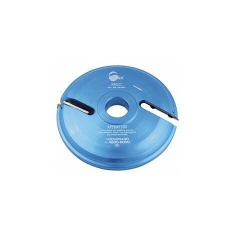 porte outils plate bande INF toupie 30 mm livré avec 1 jeu de plaquettes carbure