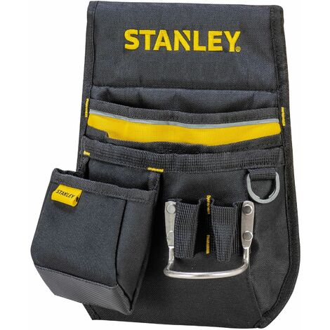 Porte-Outils Simple - Nombreuses Poches et Boucles - Confort Maximal - STANLEY, 1-96-181