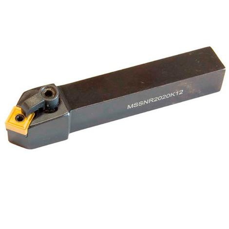 Porte outils tour métaux tournage extérieur Droite 45° 20 x 20 x L. 125 mm - MSSN R 2020 K12 - Métalprofi - -