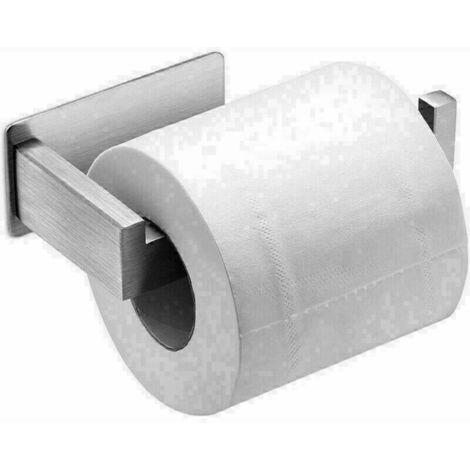 """main image of """"Porte Papier Toilette Auto-adhésif en Acier Inoxydable Support de Papier, Porte Rouleau Papier Toilettes sans Percage, Porte Rouleau Papier WC Derouleur"""""""