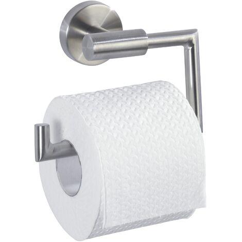 Porte Papier toilette Mural, Dérouleur papier WC sans couvercle Bosio mat WENKO
