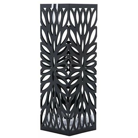 Porte parapluies design pratique moderne métal noir élégant - Métal