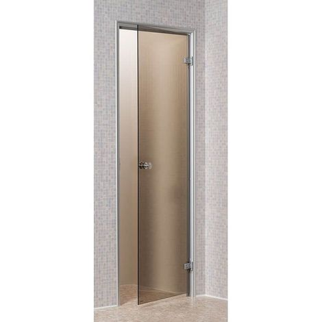 Porte pour Hammam Bronze 80 x 190 cm