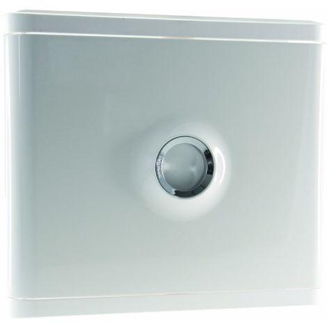 Porte pour platine disjoncteur ERDF - blanc