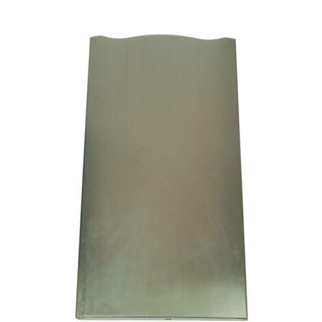 PORTE REFRIGERATEUR INOX LXH 540X1030X55 POUR REFRIGERATEUR INDESIT - C00143326