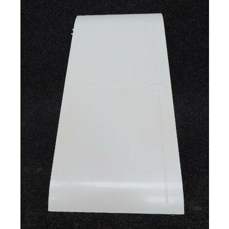 """main image of """"Porte reversible pour tableau 3 rangées de 13 modules blanche OHMTEC IICSEN 423137"""""""